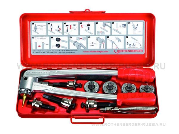 Набор труборасширитель отбортовщик для медных труб COMBI KIT 12-15-18-22 мм ROTHENBERGER