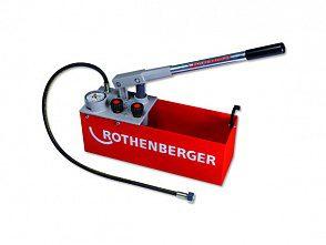 Опрессовочные насосы (опрессовщики) для систем отопления и водоснабжения Rothenberger