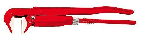 Газовый ключ 90° с пластиковыми губками 70545 ROTHENBERGER
