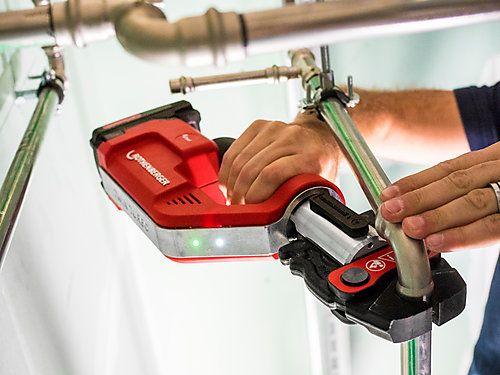 Аккумуляторный электрогидравлический пресс ROMAX COMPACT TWIN TURBO ROTHENBERGER