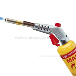Производитель:ROTHENBERGER (Ротенбергер, Германия) Газовая горелка ROTHENBERGER SUPER FIRE 3 (Ротенбергер Супер Файер 3):