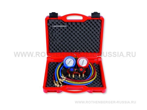 Наборы для монтажа и обслуживания систем охлаждения с 2-х и 4-х позиционными коллекторами ROTHENBERGER