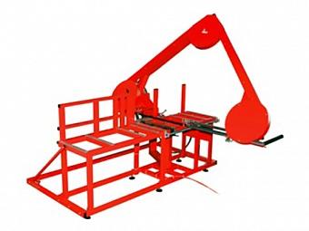 ROWELD BS 630 M ROTHENBERGER Ленточнопильный станок для полимерных труб 50-630 мм