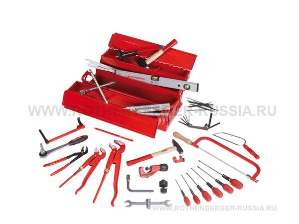 Набор инструмента ROTHENBERGER из 50 предметов в металлическом ящике