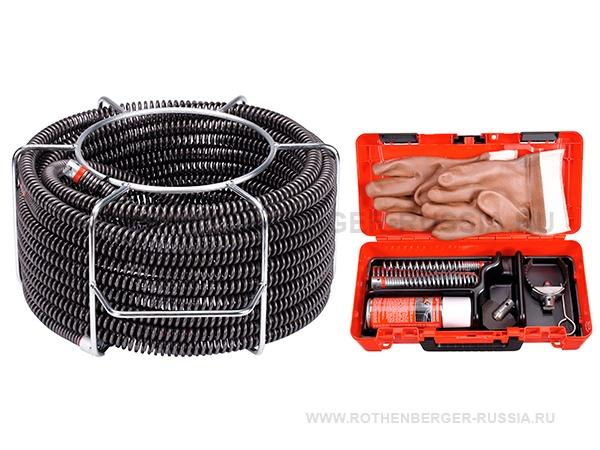 Наборы спиралей и инструмента для прочистных машин ROTHENBERGER