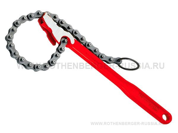 "Цепной трубный ключ 4"" R/L 70235 ROTHENBERGER"