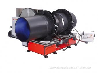 Цеховая сварочная машина ROWELD P 1000 W ROTHENBERGER для производства отводов и тройников диаметром 560-1000 мм