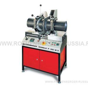 Цеховые сварочные аппараты ROWELD P 315 W ROTHENBERGER (Ровелд P 315 W) для производства отводов и тройников диаметром 90-315 мм
