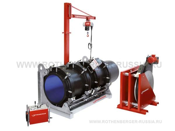 Аппарат с ручным гидроприводом для стыковой сварки труб 500-800 мм ROWELD P 800 B ROTHENBERGER