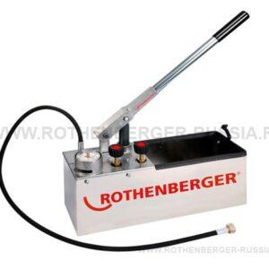 Ручной опрессовочный насос RP 50-S/ RP 50-S INOX ROTHENBERGER