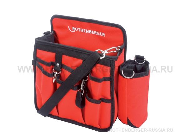 С практичным внешними карманами для быстрого доступа к инструменту. С ручками и ремнем, регулируемым по длине, для удобства транспортировки. Технические характеристики Размеры: (460 x 260 x 260 мм)