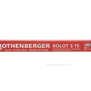 Твердый припой ROLOT S 15 ROTHENBERGER