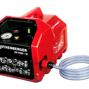 Электрический опрессовочный насос RP PRO III ROTHENBERGER